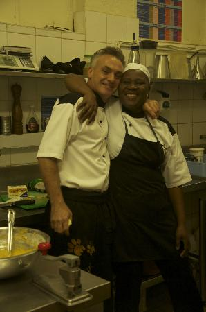 Ulusaba Rock Lodge: In the kitchen with Ian