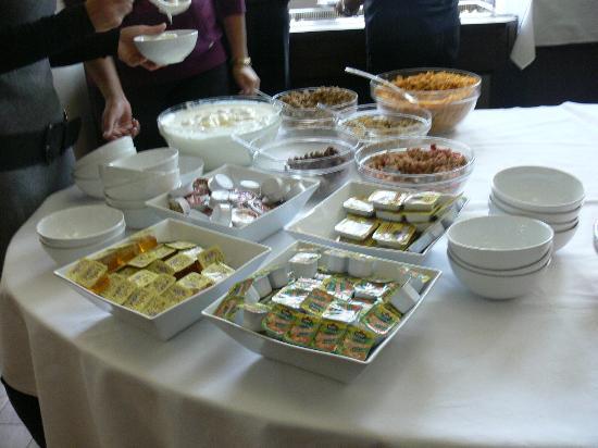 Extol Inn: buffet froid 