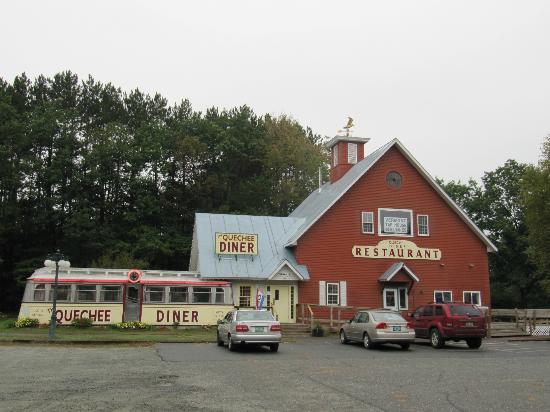 The Farmers Diner Quechee Restaurant: Exterior