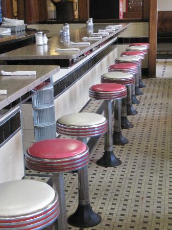 The Farmers Diner Quechee Restaurant: Great Diner Counter