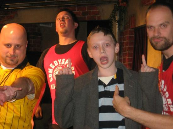 ComedySportz: Fun for the whole family!