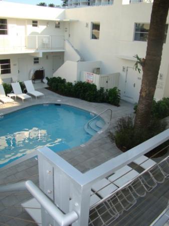 Poolside - The Aqua Hotel