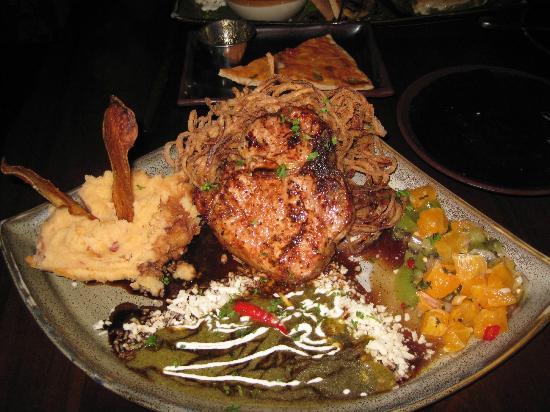 Indigo Grill : Porterhouse Pork