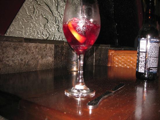 Indigo Grill : Red Sangria