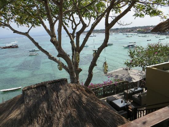 Batu Karang Lembongan Resort & Day Spa : Breakfast time view