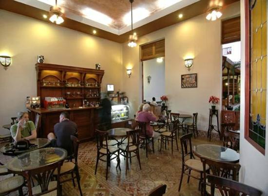 Hotel Dario: Cafeteria CHOCOLATE