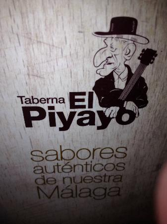 El Piyayo Menu Cover