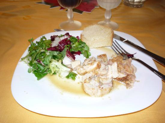 Azienda Agricola Masseto: Just one of the delicious dishes served by Mama Paola.