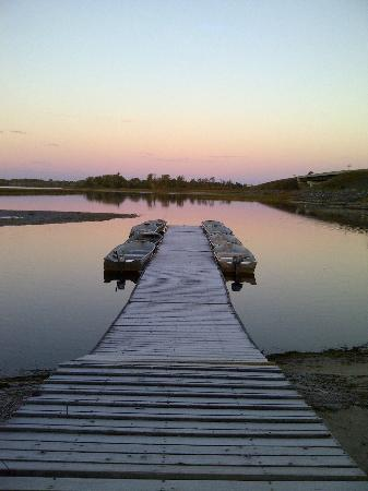 Muskey's Landing : Early Morning at Muskeys