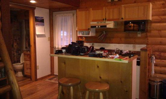 Baker Creek Mountain Resort : kitchen