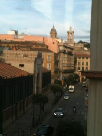 Atarazanas Malaga Boutique Hotel : View from room 204 looking towards historic centre