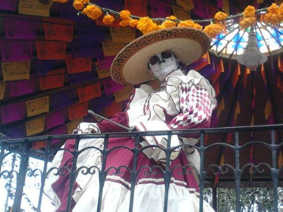 Мехико, Мексика: La belleza en Catrina