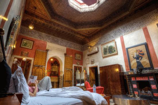 Riad Malika: Royal suite