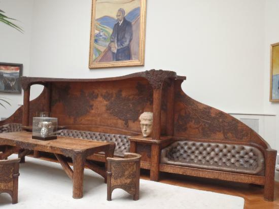 Γκαλερί Thiel (Thielska Galleriet): Thielska - furniture