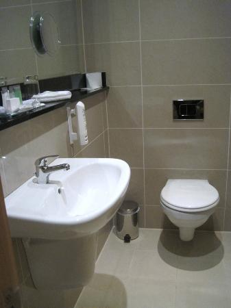 BEST WESTERN PLUS Academy Plaza Hotel: Small vanity space
