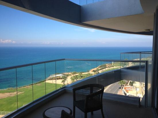 Ramada Netanya: our balcony