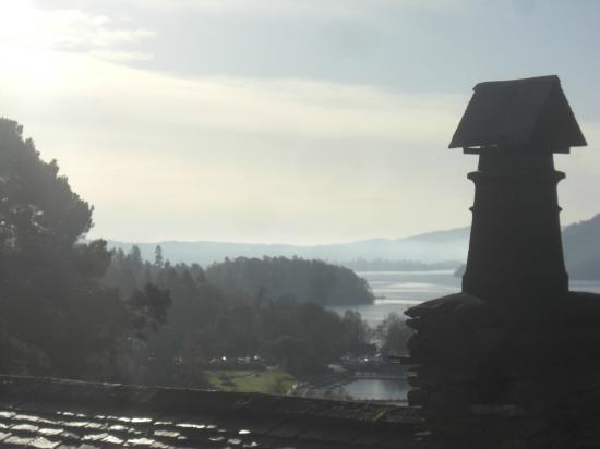 The Samling Hotel : View over Windermere from Room