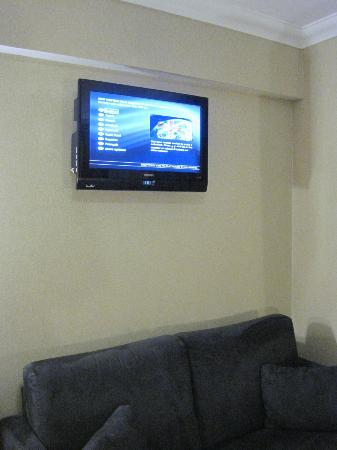 Academy Plaza Hotel: TV