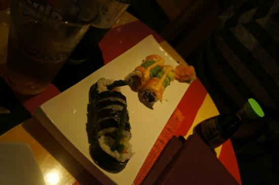 Matterhorn Restaurant: Sushi