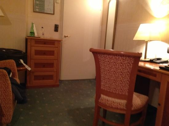 هوتل بيتهوفن فيينا: la chambre 