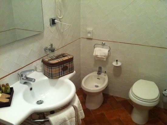 Borgo Grondaie: il bagno
