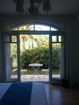 Alura Boutique Hotel: Kaldığımız odanın manzarası