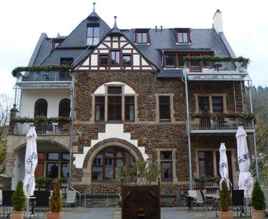 Hotel Villa Vinum Cochem : façade arrière