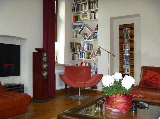 Hotel Villa Vinum Cochem: salon au rez de chaussée