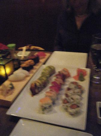 Enso Asian Bistro: Variety of sushi and rolls