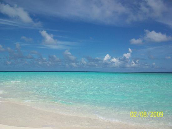 VOI Dhiggiri Resort: veduta dalla spiaggia...