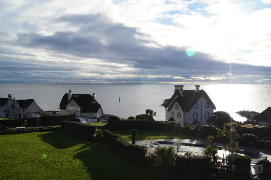 Sidmouth Harbour Hotel - The Westcliff: View from room 24 balcony