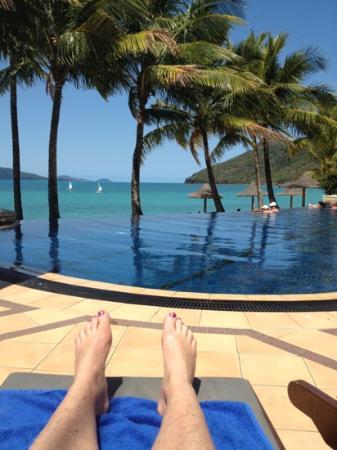 Beach Club: perfect view