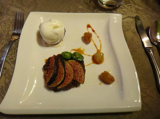 Logis La Brèche: Le dessert