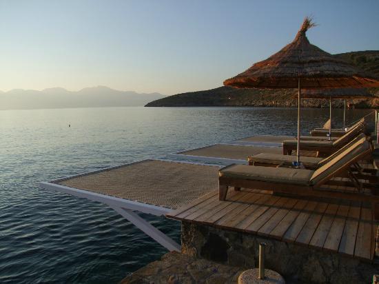 Sensimar Elounda Village Resort & Spa by Aquila: Pour quelques privilégiés matinaux