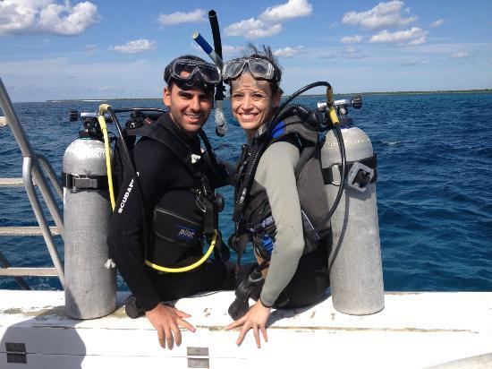 Studio Blue Dive Center : Increíble buceo