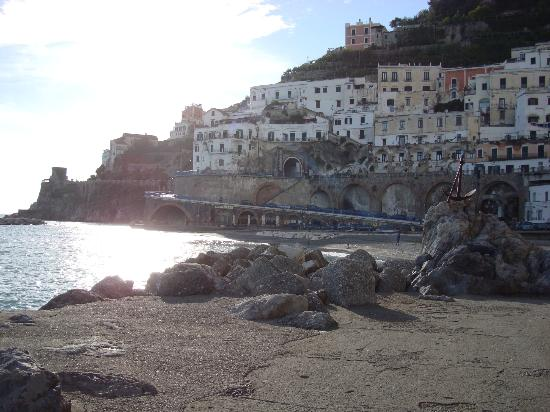 Atrani, İtalya: Vista Panoramica del Ristorante