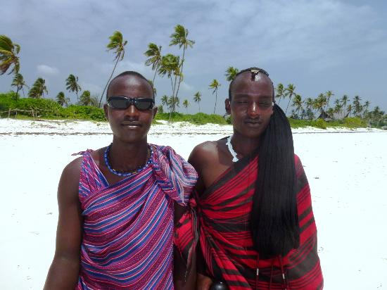 Matemwe Beach Village: Local Masai