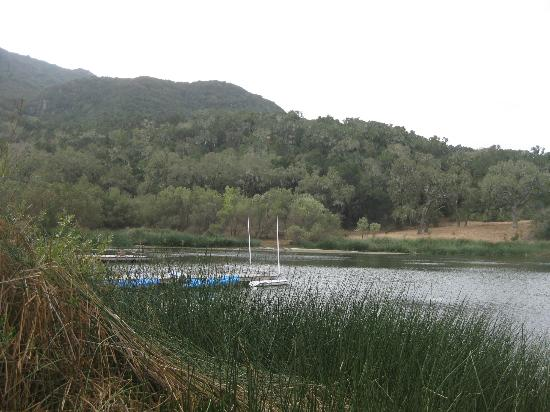 Alisal Guest Ranch & Resort: The Lake where you can go boating, fishing, or just relax