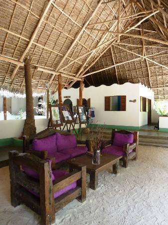 Matemwe Beach Village: Hotel foyer