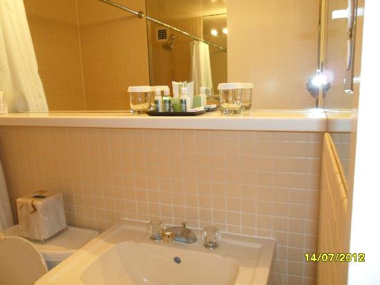 State Plaza Hotel: Bath room with everything