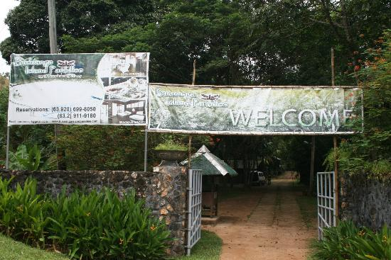 Busuanga Island Paradise: Front Gate Of BIP