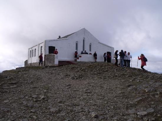 Croagh Patrick: Church on Summit