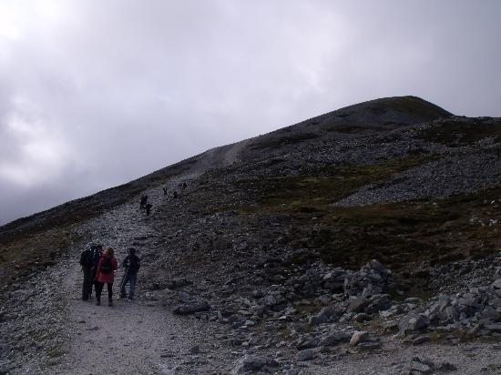 Croagh Patrick: More of the climb