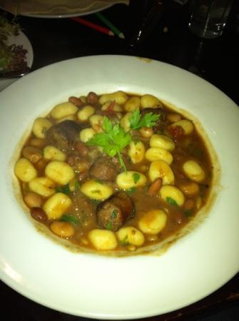 La Rivista: Gnocchi with Italian Sausage