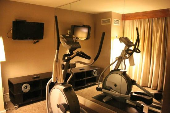 Kimpton Hotel Palomar Washington DC: Our exercise room