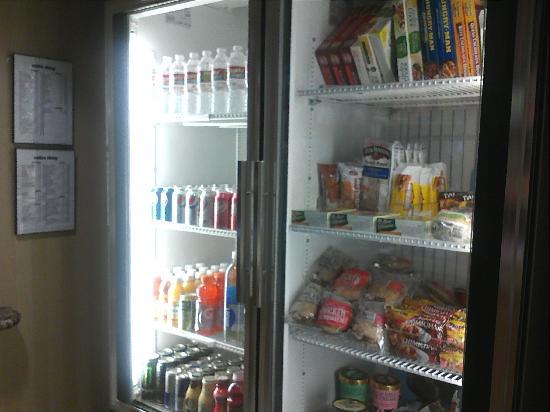 Hampton Inn & Suites Lawton: suiteshop drinks and frozen treats