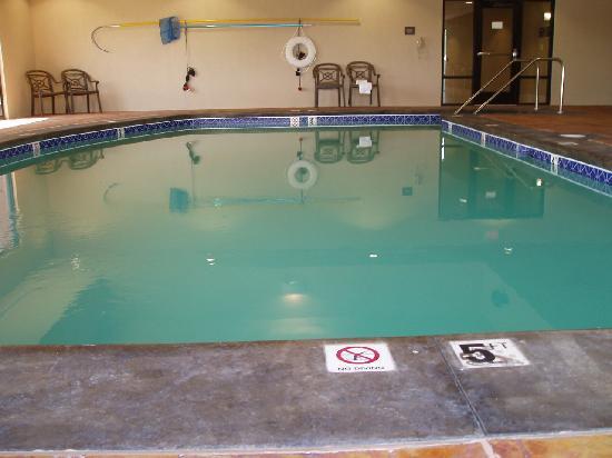 Hampton Inn & Suites Lawton: Pool