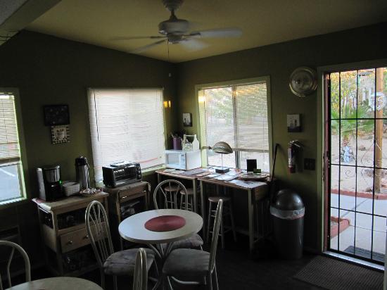 Harmony Motel: Gemeinschaftsbereich