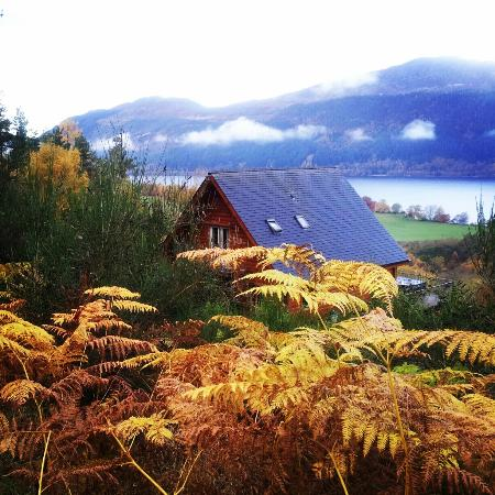 Lodges on Loch Ness: wow