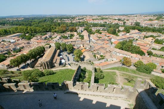 Domaine Michaud: city of Carcassonne from the cité